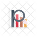 Search Analysis Barchart Icon