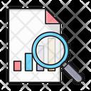 Search Graph File Icon