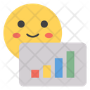 Graph Smiley Icon