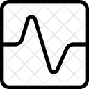 Graph Square Graph Circle Analytics Chart Icon