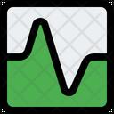 Graph Square Icon