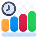 Graph Time Growth Time Productivity Icon