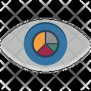 Visibility Pie Graph Pie Chart Icon