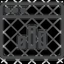 Graph Webpage Icon