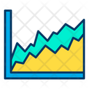 Chart Area Graph Analysis Icon