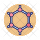 Graphene Hexagon Hexagonal Icon