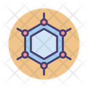 Graphene Hexagone Hexagonal Icon
