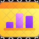 Graphic Bar Chart Icon
