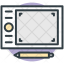 Graphic Tablet Digitizer Icon