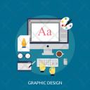 Graphic Design Computer Icon