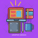 Graphic Design Technology Icon