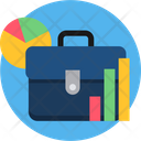 Graphic Bag Design Icon