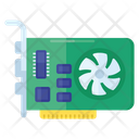 Audio Card Computer Card Expansion Card Icon