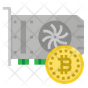 Graphic Card Bitcoin Icon
