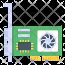 Graphic Card Computer Hardware Pc Card Icon