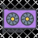 Graphic Card Gpu Computer Icon