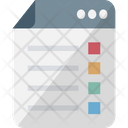 Graphic Design Listing Layout Listing Template Icon