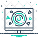 Graphic Design Formation Icon