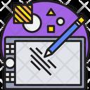 Graphic Design Designing Tab Icon