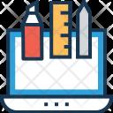 Graphic Design Draft Icon