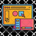 Graphic Design Online Design Graphic Designing Icon