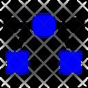 Curve Bezier Background Icon