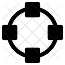 Circle Shape Editing Icon