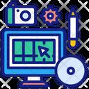 Graphic Design Freelancer Graphic Designer Icon