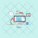 Graphic Designing Computer Icon