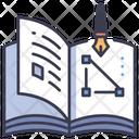 Graphic Book Design Icon