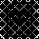 Graphic Design File Bezier Nodes Icon