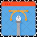 Digital Graphic Graphic Tool Editor Icon