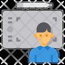 Graphic Designer Occupation Job Icon