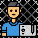 Graphic Designer Avatar Occupation Icon