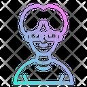 Graphic Designer Graphic Glass Icon