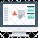 Graphic Designing Editor Icon