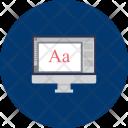 Computer Design Graphic Icon