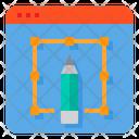 Graphic Design Design Edit Tools Icon