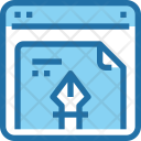 Graphic File Digital Icon