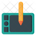 Graphic Tablet Designing Tablet Graphic Designing Icon