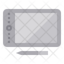 Graphic Tablet Graphic Drawing Tablet Icon