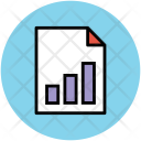 Graphical Document Chart Icon