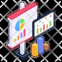 Analytics Presentation Business Presentation Descriptive Data Icon