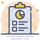 Graphical Report Business Report Graphic Icon