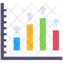 Graphical Report Arrow Infographic Icon