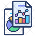 Statistical Analysis Business Analytics Business Report Icon