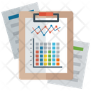 Graphical Representation Business Chart Analytics Icon