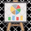 Graphical Representation Presentation Statistics Icon