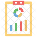 Graphical Representation Presentation Statistics Icon