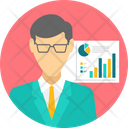 Business Graphic Businessman Icon